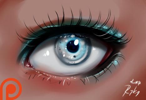 Eye - video process
