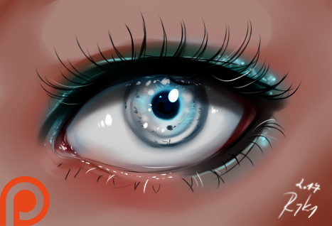 Eye - video process by ryky