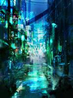 Dark Corner Of The City