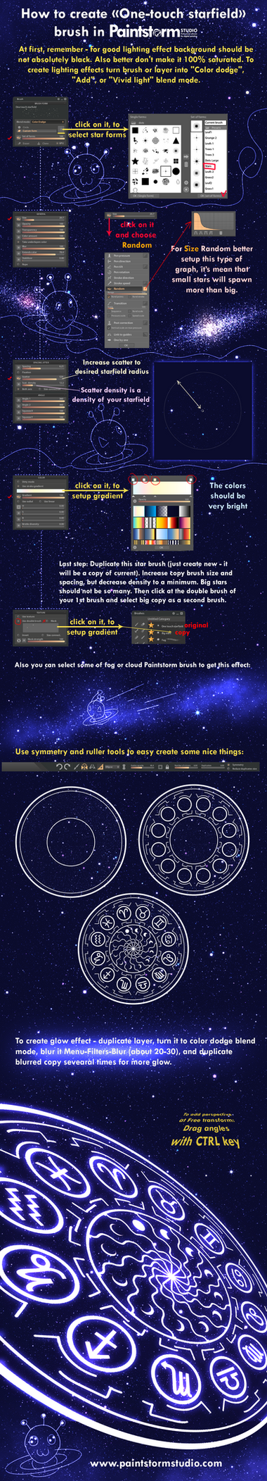 Starfield Tutorial by ryky