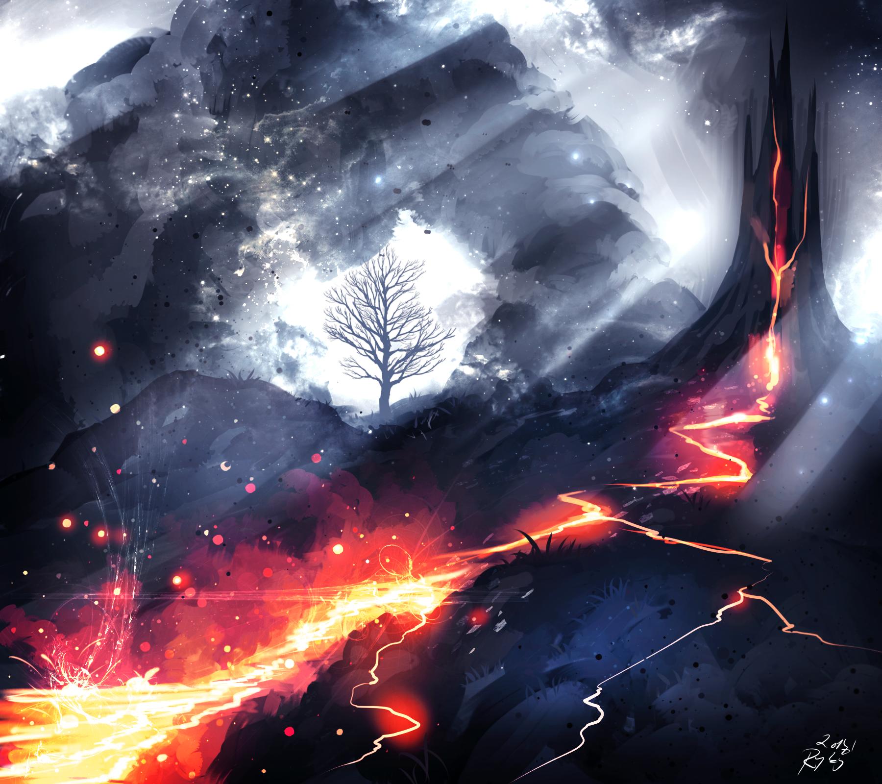 Lava by ryky