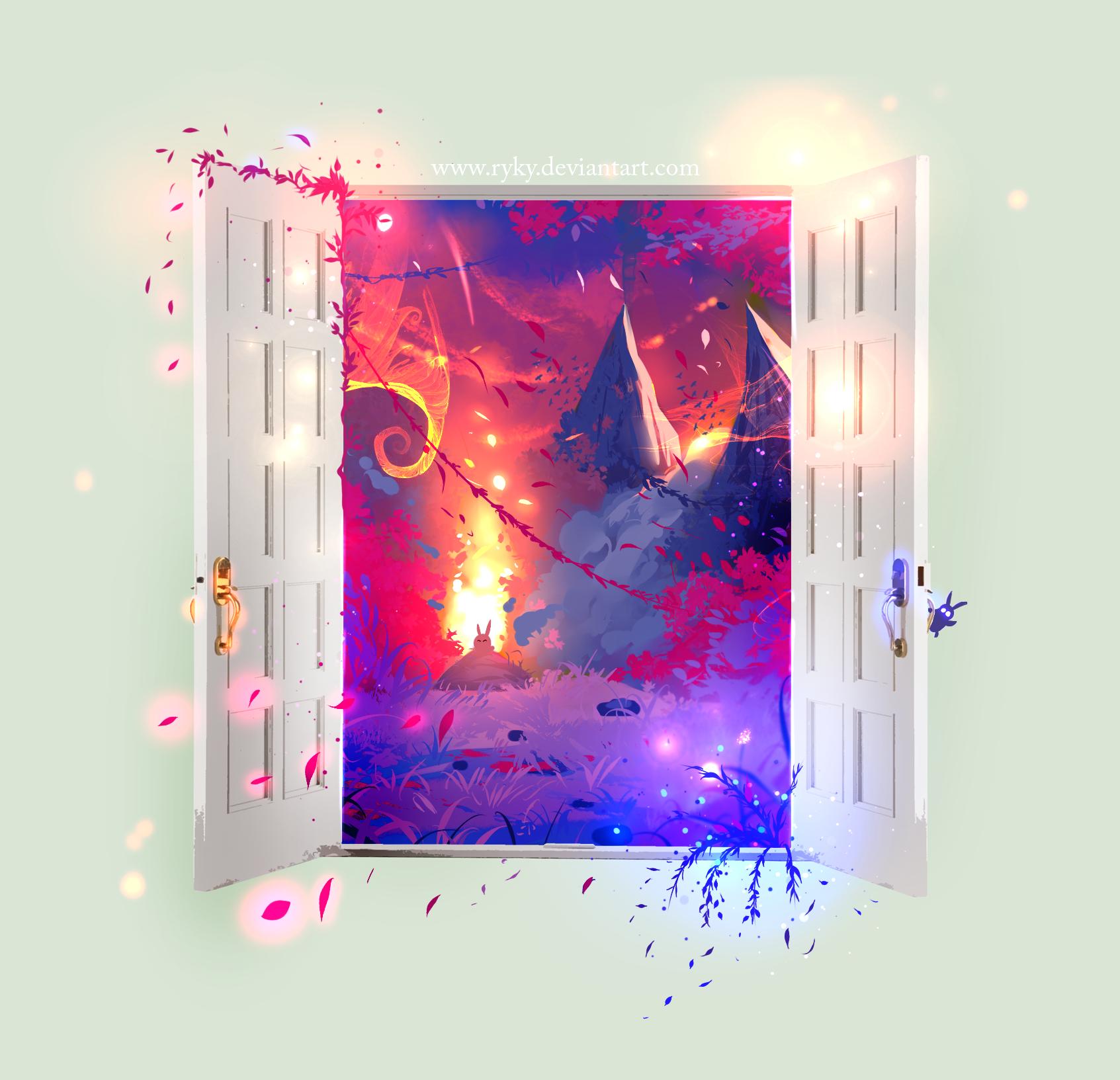 Magic Door by ryky Magic Door by ryky  sc 1 st  ryky - DeviantArt & Magic Door by ryky on DeviantArt pezcame.com