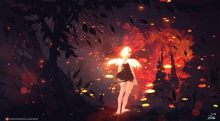 Fire Angel by ryky