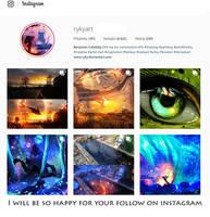 ME ON  INSTAGRAM EDIT  8 - 140 k FOLLOWERS!! by ryky