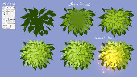 How i made leaves - EASY