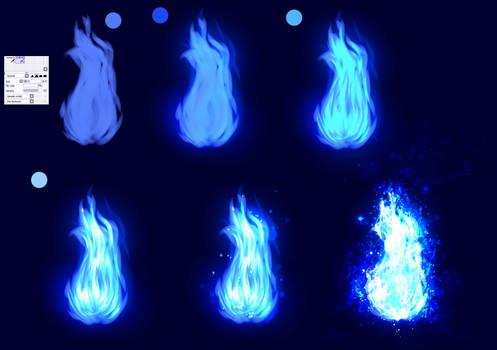 Blue Fire - EASY tutorial