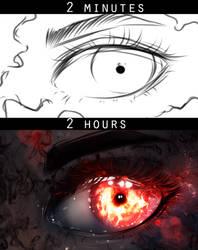 Dark Eye by ryky