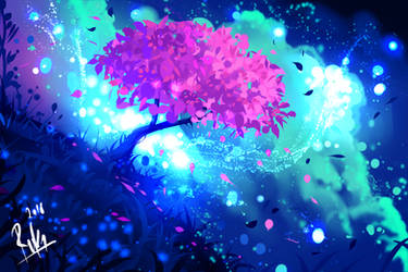 Happy Tree by ryky