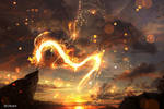 Fire Dragon by ryky
