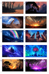 SCENERIES  - SALE!! ALL FOR 25$ by ryky