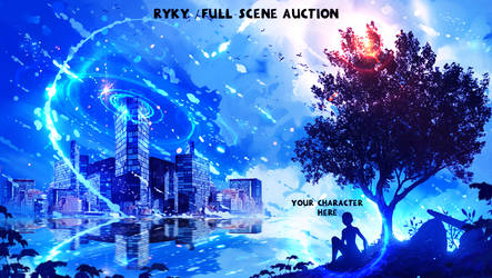 Full scene / AUCTION  2 / OPEN by ryky