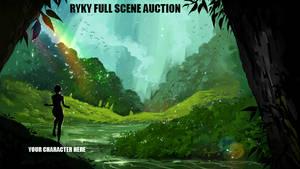 <b>Full Scene / AUCTION   12 / CLOSED</b><br><i>ryky</i>