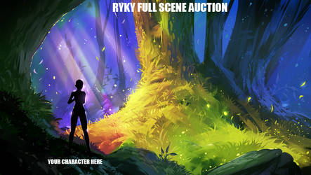 Full scene / AUCTION   13 / OPEN by ryky