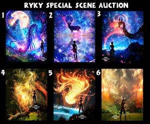 SPECIAL - Full scene / AUCTION   25 / OPEN