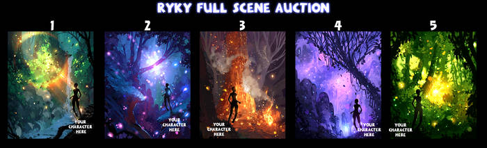 SPECIAL - Full scene / AUCTION   27 / CLOSED