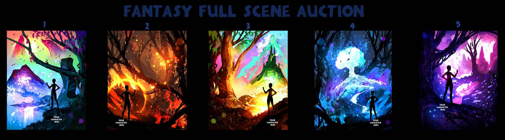 FANTASY FULL SCENE / Auction 34 / CLOSED