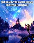 Fantasy scene HIGH RESOLUTION / Auction 35 /CLOSED