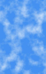 Blue Sky with Clouds by SB-Photography-Stock