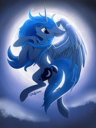 Princess Luna for Luna Day by Muffinkarton