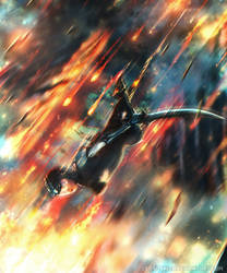 Alita: Battle Angel  - Digital Painting Time-lapse