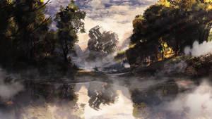 Fantasy RPG landscape