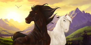 Warrior and Jem, from RP Herd