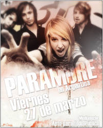Paramore in Argentina by DianzART