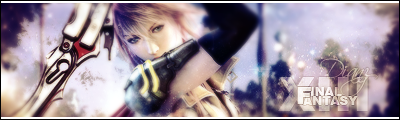 Final Fantasy XIII - Signature by DianzART