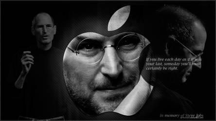 In memory Steve Jobs by DianzART