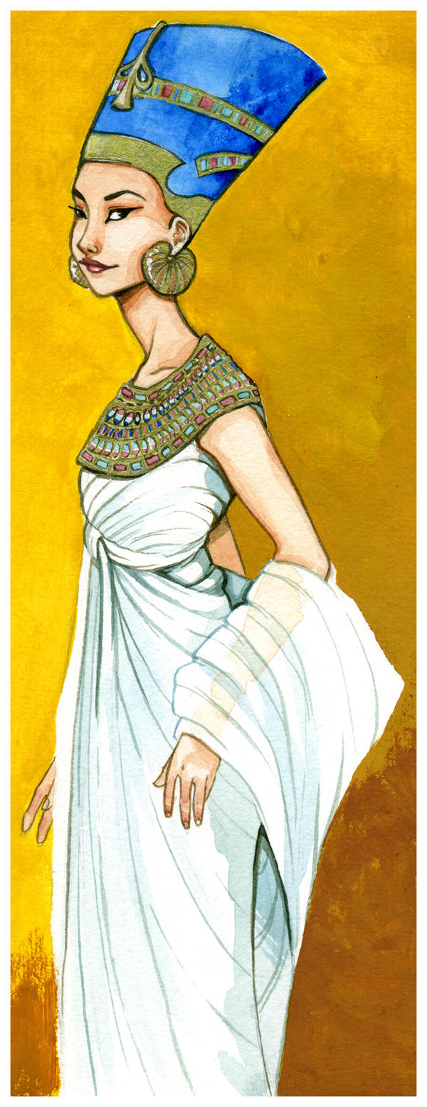 Nefertiti by OlayaValle