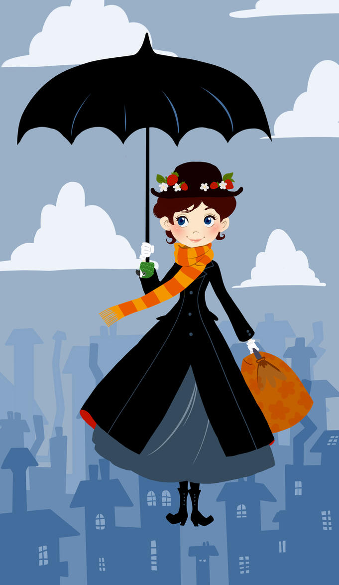 Mary poppins by olayavalle on deviantart - Mary poppins wallpaper ...