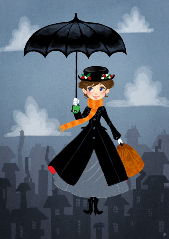 Mary poppins remake by olayavalle on deviantart - Mary poppins wallpaper ...