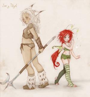 Zoe and Li