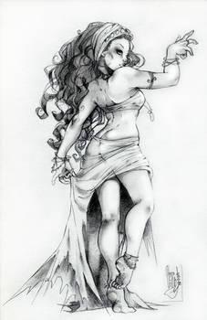 gypsy dancing