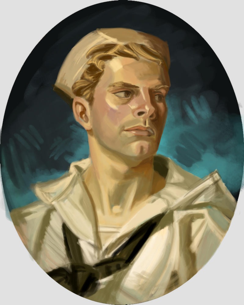 Leyendecker Study by Adreean