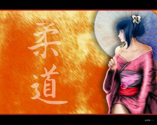 kimono girl by ujiok