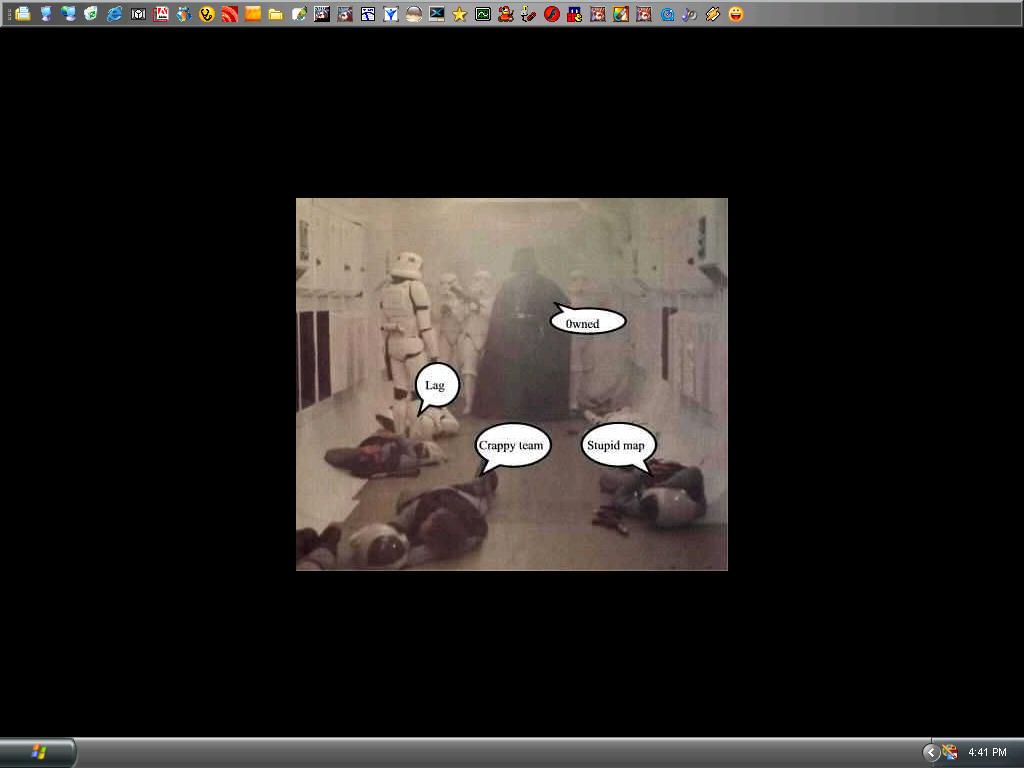 Current Desktop. randomness. by electricjeebus