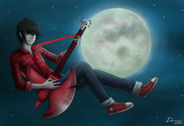 Marshall Lee by Daninha-LOL