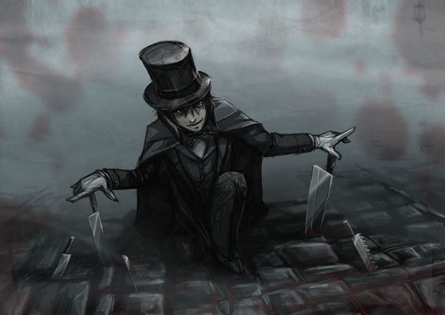 Jack the ripper by Linouuu