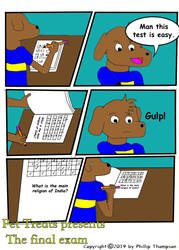 Pet Treats in the final exam page 1 by Phillyphil89