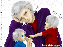 Sparda the Daddy by iwashi-kun