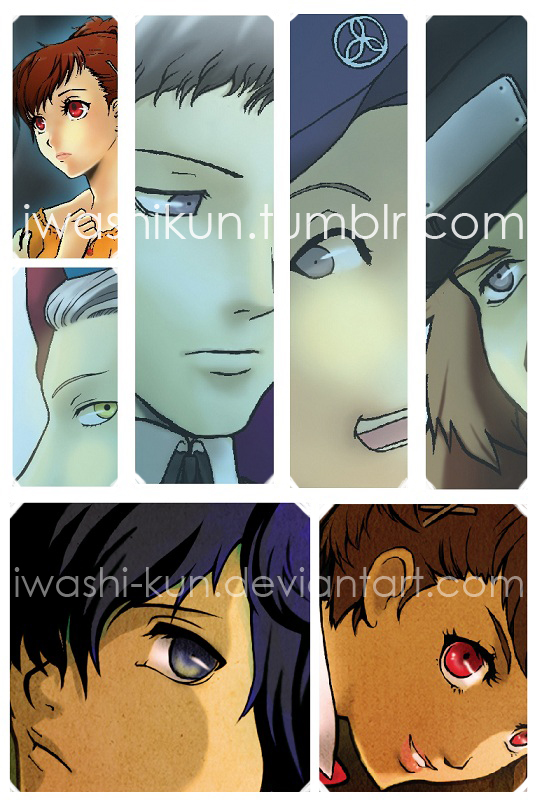 P3P Artworks Preview by iwashi-kun