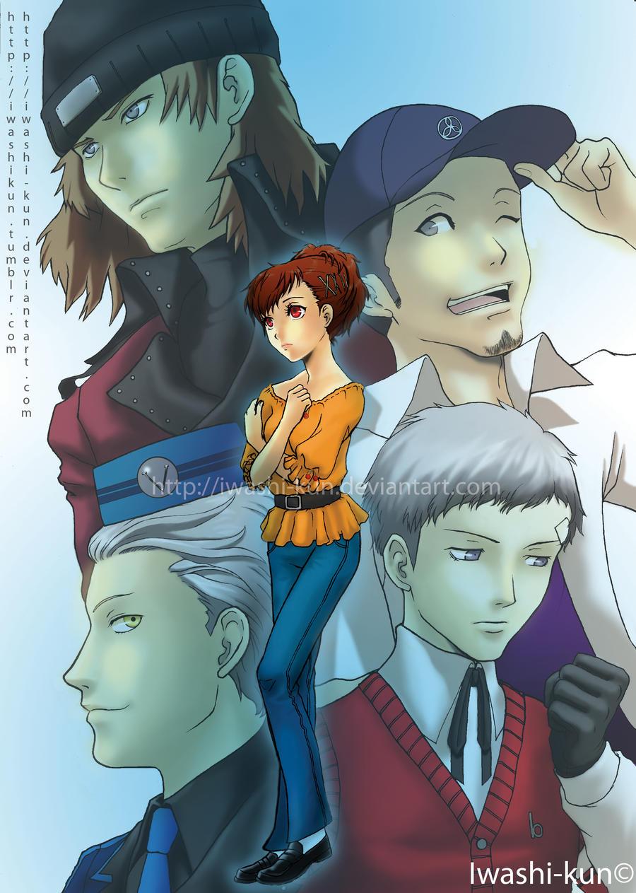 P3P As An Otome Game? by iwashi-kun