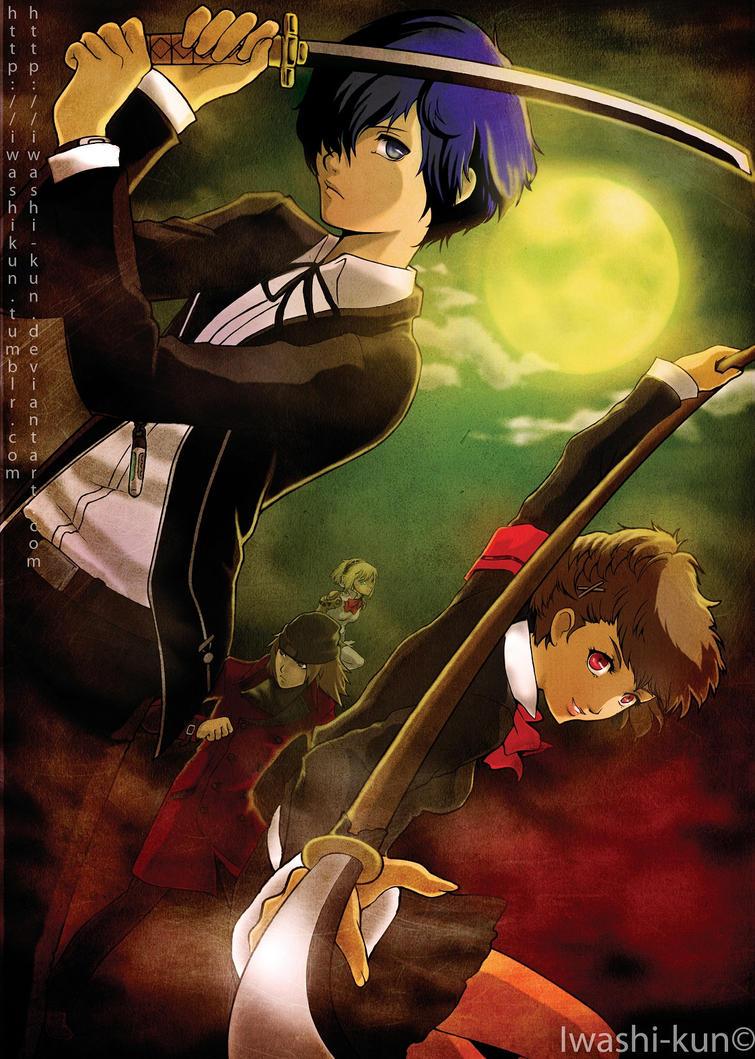Under The Moonlight by iwashi-kun