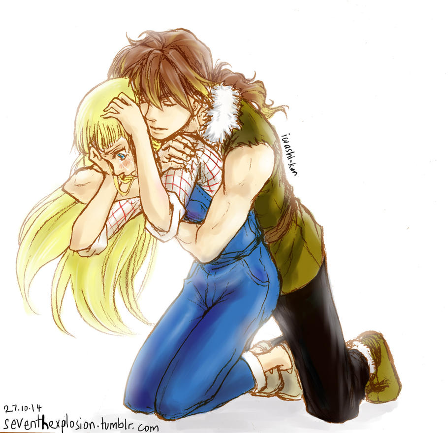 HM:MFOMT: Cliff x Claire Doodle by iwashi-kun