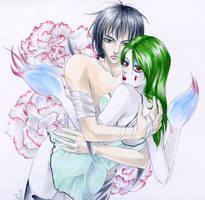 White Carnation by pink-KILLER
