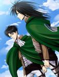 Levi and Toshio