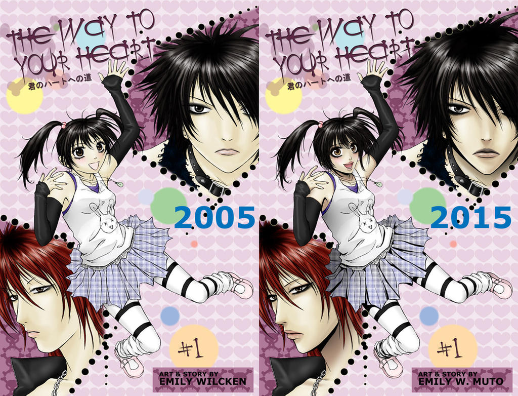 2005 2015 Comparison by pink-KILLER