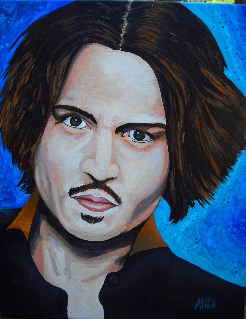 Johnny Depp by roballen2