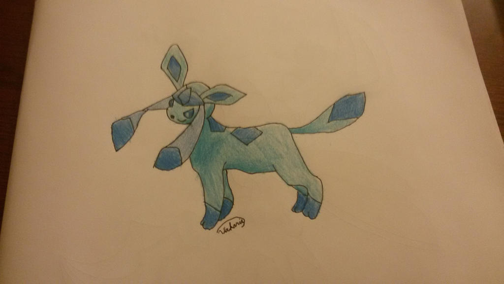 Glaceon by Vakaris8